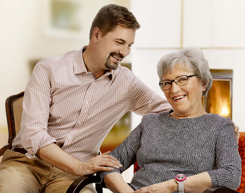 Vivago supports independent living at home